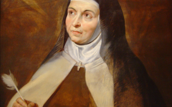 St. Teresa of Avila by Peter Paul Rubens (1615)