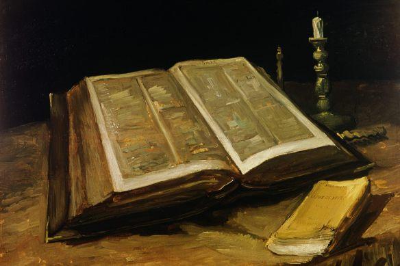 The Bible, Van Gogh, 1885